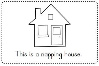 the napping house preschool activities napping house emergent reader amp sequencing activity by 371