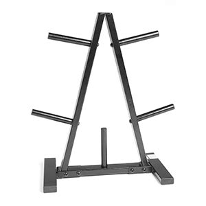 amazoncom cap barbell   plate tree rack black sports outdoors