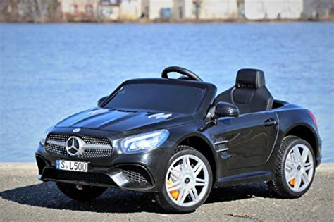 Right now, compact evs beyond the eqc have been confirmed for both the chinese and. First Drive Mercedes Benz SL Black 12v Kids Cars - Dual Motor Electric Power Ride On Car with ...
