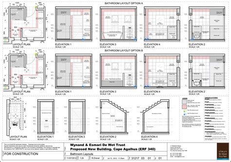 Small Bathroom Plans 5 X 7 by House De Bathroom Layouts A3 Landscape Sheet Print A2
