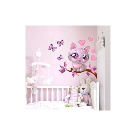 stickers om pour chambre stickers chambre bebe fille pas cher paihhi com