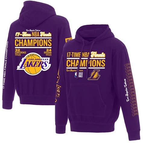Los Angeles Lakers Fanatics Branded 17-Time NBA Finals ...