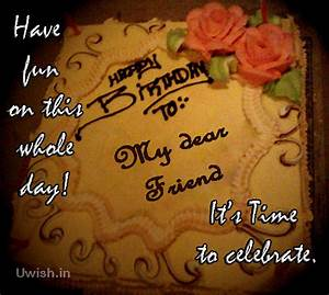 Happy Birthday to my dear friend. Have fun on this whole ...