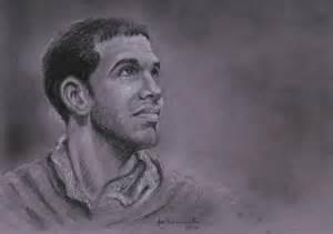 Rapper Drake Pencil Drawing