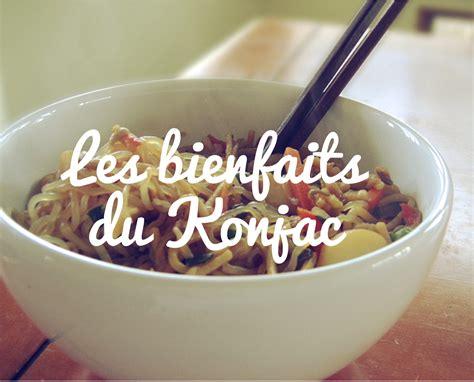 maigrir sans cuisiner recettes konjac shiratakis