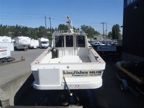 Kingfisher Boats Vancouver Island by 1988 Kingfisher 36 Foot Fishing Boat Outside Nanaimo Nanaimo
