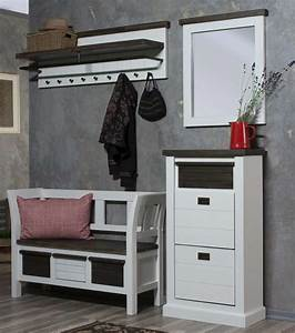 Schuhschrank Hoch Schmal : schuhschrank loft schmal weiss lackiert astor ~ Orissabook.com Haus und Dekorationen