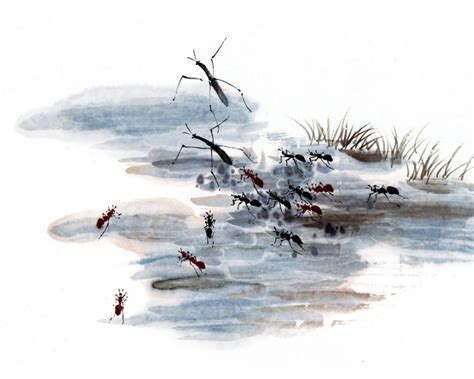 中国水墨画图片 第24张 尺寸:1280x1024 (天堂图片网)