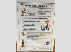 Tutoring Now Available After School