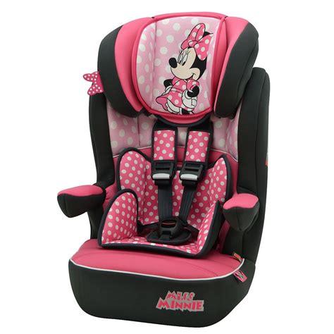 siege minnie disney minnie mouse pink dots imax car seat 1 2 3