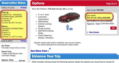 One Way Car Rental Deals