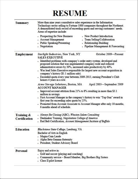 List Of Best Resumes by Exles Of Resumes 14 Reasons This Is A Recent