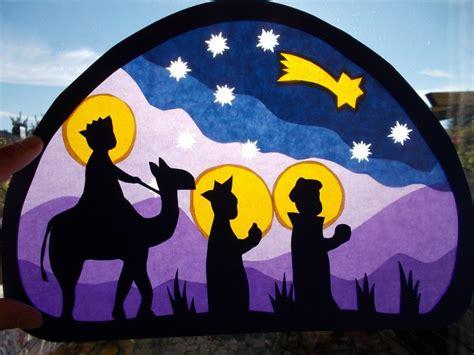 Fensterdeko Weihnachten Kinderkrippe by Die Besten 25 Hl Drei K 246 Nige Ideen Auf
