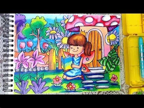Coloring With Spidol by Cara Menggambar Dan Mewarnai Dengan Crayon