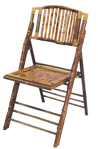 goodwin bamboo folding chair goodwin events