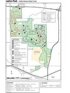 Lapham Peak State Park Trail Map