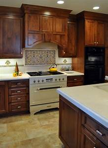 kitchen glamorous kitchen decorating design ideas with With kitchen tile ideas for the backsplash area