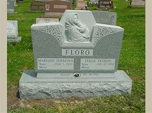 catholic blessed mother and child headstone rome monument With cemetery lettering prices