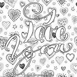 Coloring Valentines Letters Really Paint Lovesmag Unicorn Lettering Adult Getcoloringpages Doodle Unbelievable Stylowi Downloads Magic sketch template
