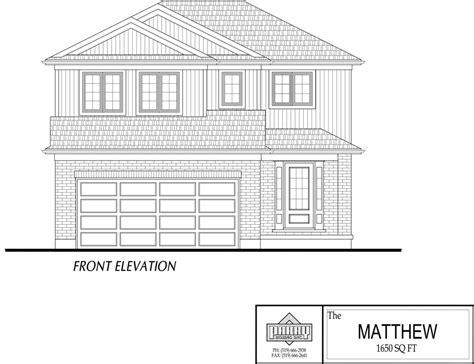 matthew house plan parry homes