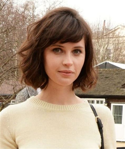 HD wallpapers medium length hairstyles with bangs on pinterest
