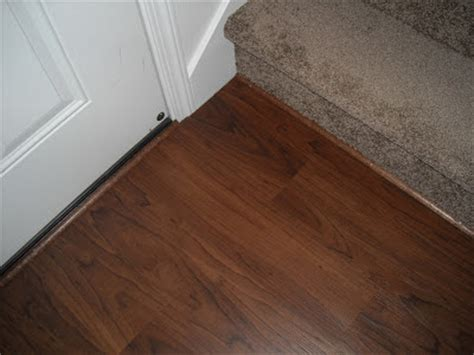 • in this video i share how to install your laminate or vinyl plank backwards. Allure Trafficmaster Floor Transition Strips - Finishing my Allure Floor