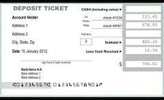 how to fill out a deposit ticket how to fill out a bank deposit slip quora
