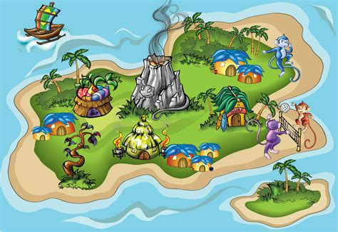 Tropical Island By Smash1717 On Deviantart