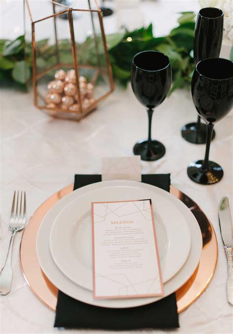 13 Elegant Ways to Incorporate Rose Gold into Wedding