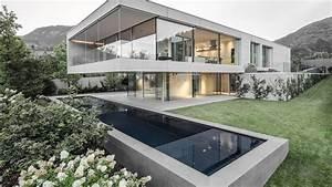 Luxury modern concrete house in Trento [ Timelapse ] - YouTube  Modern