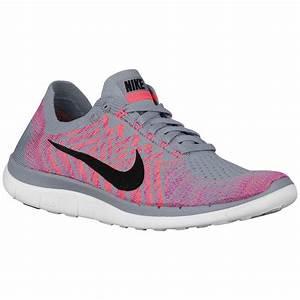 Cheap Nike Free 4.0 Flyknit 2015 Womens Wolf Grey/Fuchsia ...