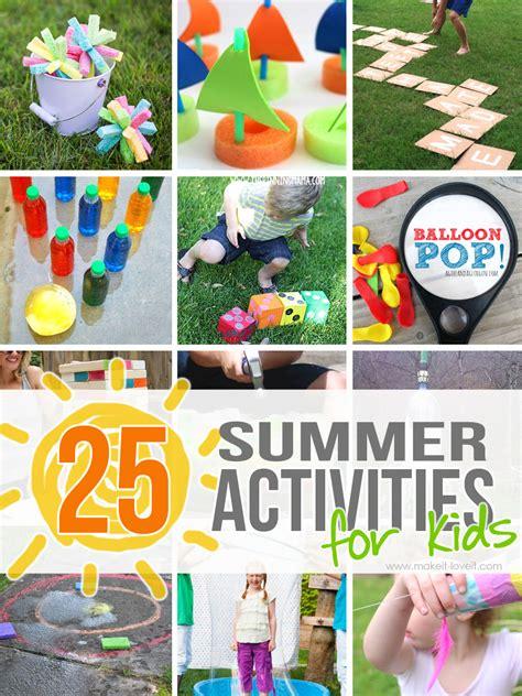 outdoor summer activities  kids
