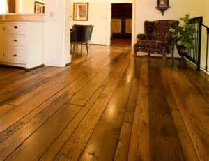 Oak Random Width Wood Flooring