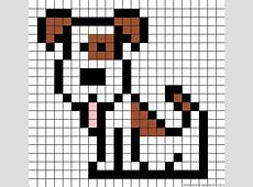 Pixel Art Puppy Easy Draw 10