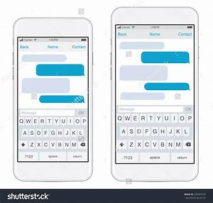 Iphone Text Bubble Template