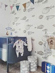 Schöne Tapeten Für Kinderzimmer : sch ne tapeten mit fischen 21 vorschl ge ~ Markanthonyermac.com Haus und Dekorationen