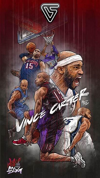 Carter Vince Basketball Forever Nba Lock Screen