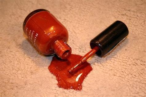 How To Get Nail Polish Out Of Carpet Without Any Damage