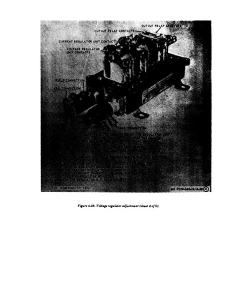 Figure 4-28. Voltage regulator adjustment (aheet 4 of 5)