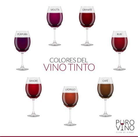 vino color los colores vino tinto