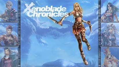 Xenoblade Chronicles Fiora Wallpapers Deviantart Lucky Fan