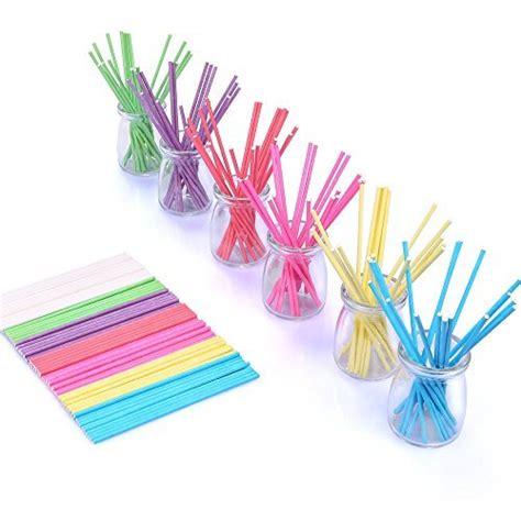colored lollipop sticks bakebaking colored lollipop sticks 7 colors for cake pops