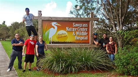 sawgrass nature center offers volunteer opportunities for teens and adults coral springs talk