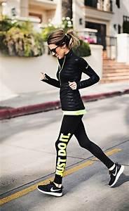 Black and Neon Nike | Hello Fashion