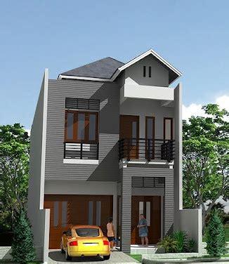 gambar rumah minimalis terbaru desain rumah dua lantai