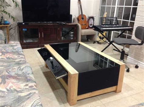Beautiful Gaming Coffee Table With Nice Gaming Coffee