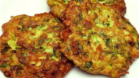 zucchinipuffer rezept leicht frikadellen zucchini youtube