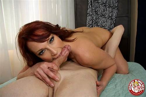 This Picturesque Redhead Knows How To Talking A Penis #Milf #Dick #Suckers #: #Jizz #In #Moms #Throat