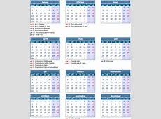 Kalendar sa neradnim danima u Srbiji 2018