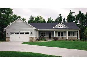 Photo Of Ranch Style House Plans With Basements Ideas by Open Plan Ranch With Finished Walkout Basement Hwbdo77020